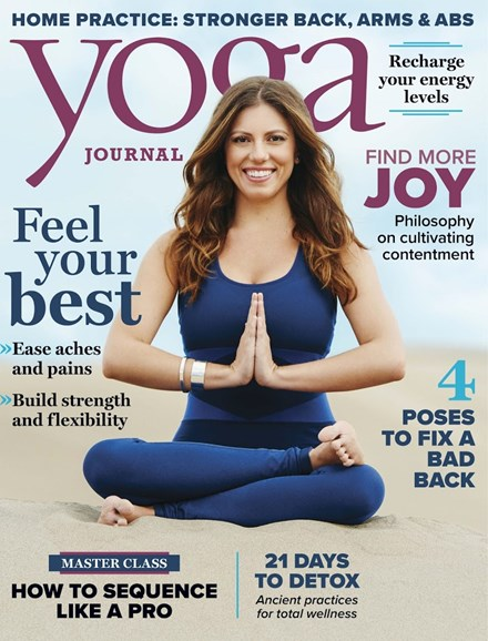 Yoga Journal Cover - 11/1/2017