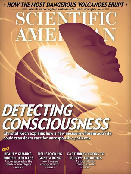 Scientific American Cover - 11/1/2017