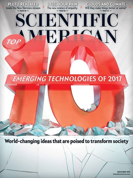 Scientific American Cover - 12/1/2017