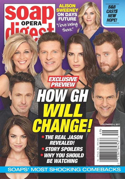 Soap Opera Digest Cover - 12/4/2017
