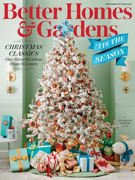 Better Homes & Gardens Cover - 12/1/2017