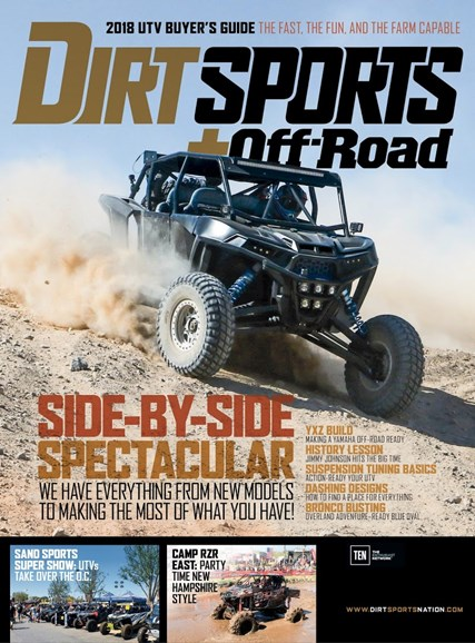 Dirt Sports & Off-Road Cover - 2/1/2018