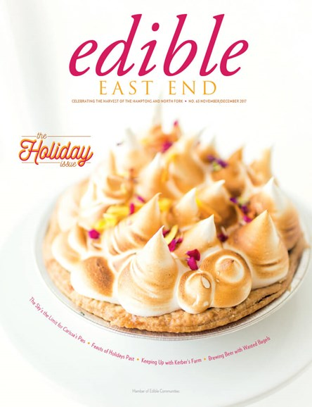 Edible East End Cover - 11/1/2017