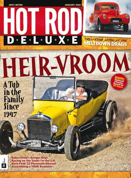 Hot Rod Deluxe Cover - 1/1/2018