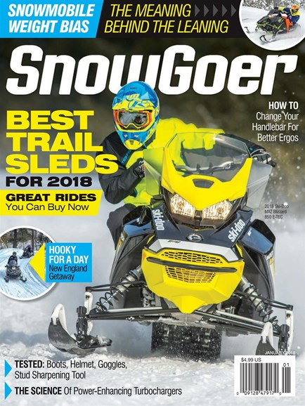 Snow Goer Cover - 1/1/2018