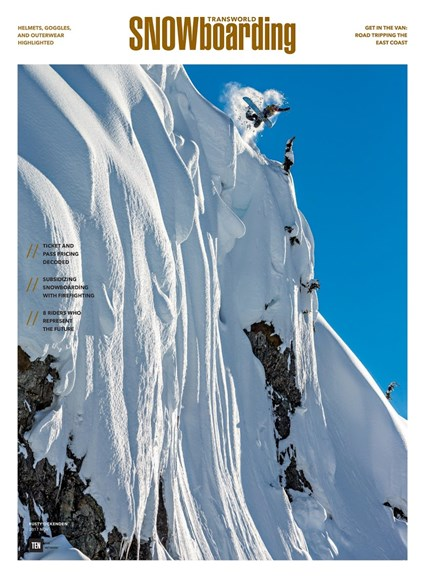Transworld SNOWboarding Cover - 11/1/2017