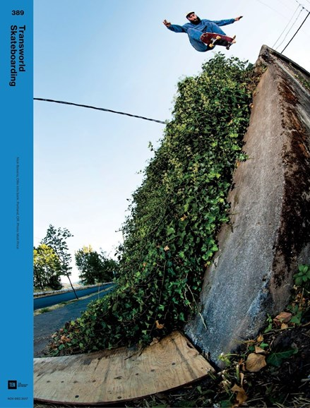 Transworld SKATEboarding Cover - 11/1/2017
