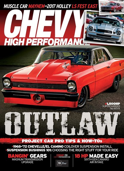 Chevy High Performance Cover - 2/1/2018