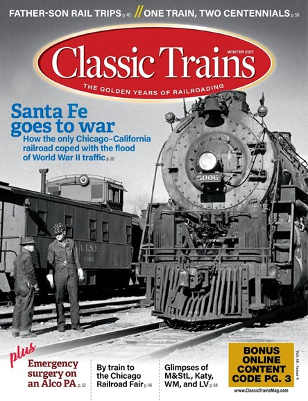 Classic Trains Cover - 12/1/2017