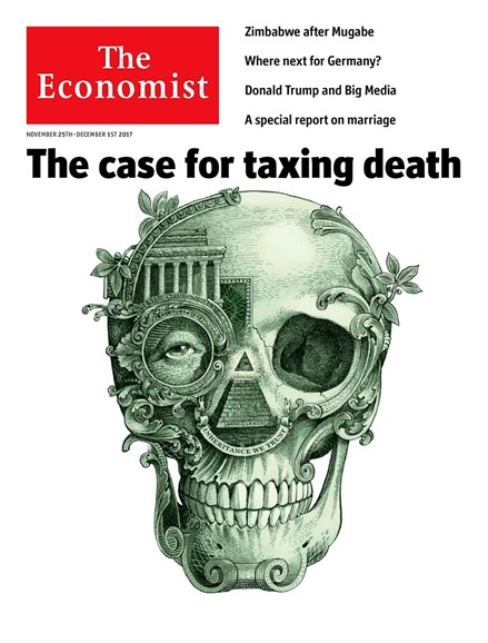 The Economist Cover - 11/25/2017