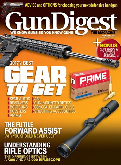 Gun Digest Cover - 12/1/2017