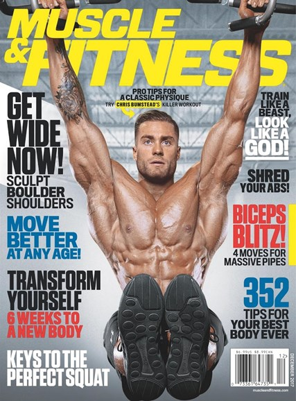 Muscle & Fitness Cover - 12/1/2017