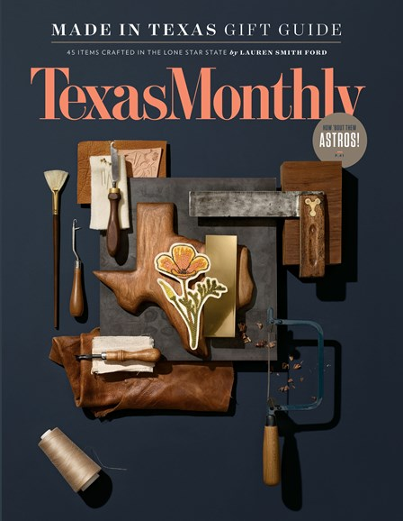 Texas Monthly Cover - 12/1/2017