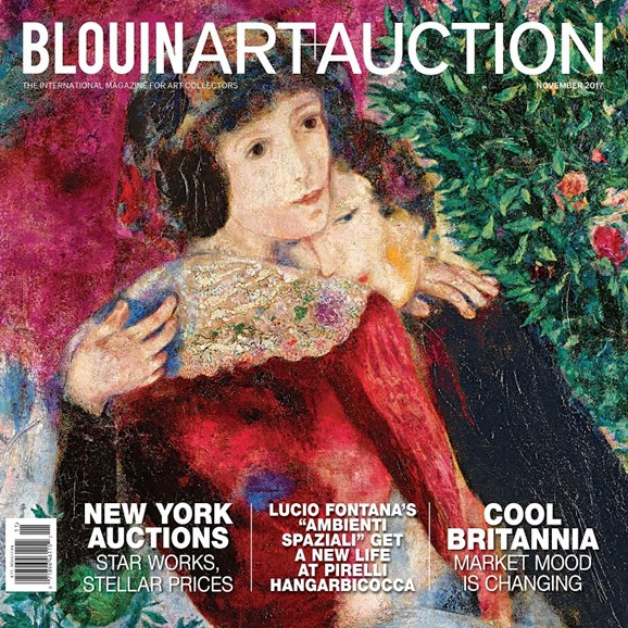 Blouin Art & Auction Cover - 11/1/2017