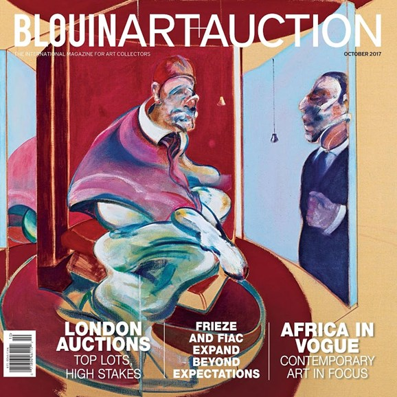 Blouin Art & Auction Cover - 10/1/2017