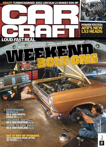 Car Craft Cover - 2/1/2018