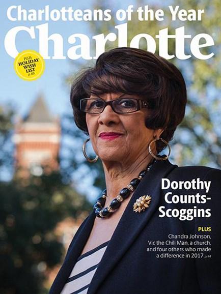Charlotte Magazine Cover - 12/1/2017