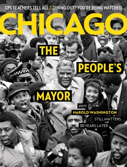 Chicago Magazine Cover - 12/1/2017