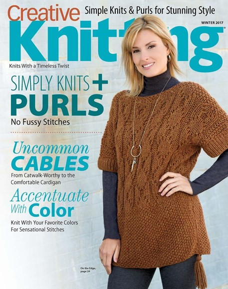 Creative Knitting Cover - 12/1/2017