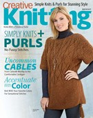 Creative Knitting Magazine 12/1/2017