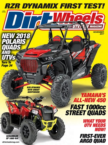 Dirt Wheels Cover - 11/1/2017