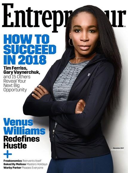 Entrepreneur Cover - 12/1/2017