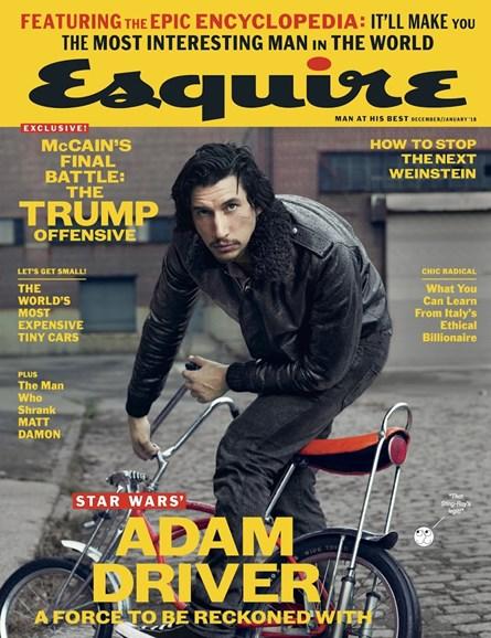 Esquire Cover - 12/1/2017