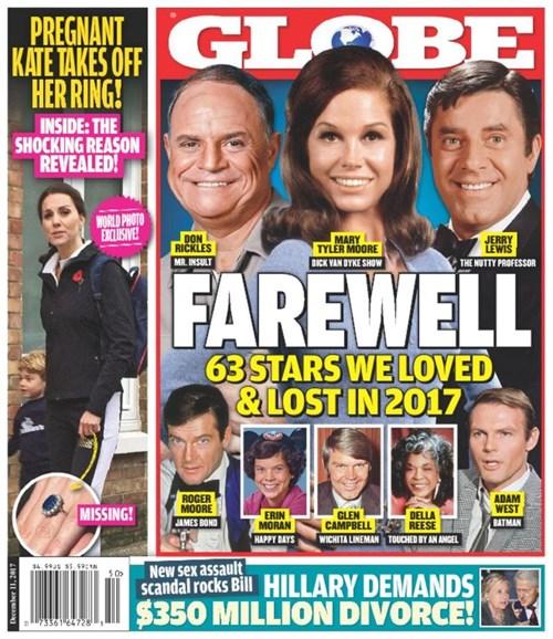 Globe Cover - 12/11/2017