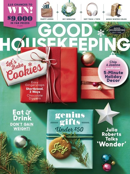 Good Housekeeping Cover - 12/1/2017