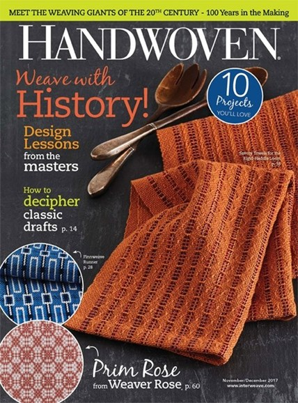 Handwoven Cover - 11/1/2017