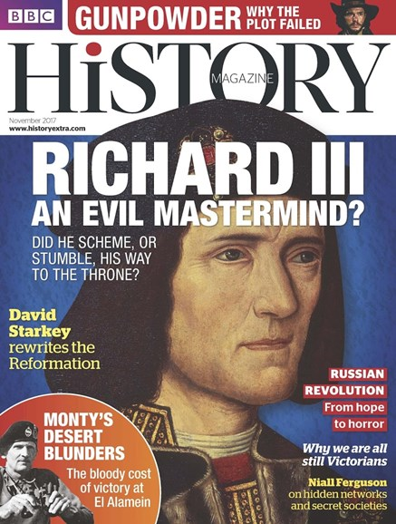 BBC History Cover - 11/1/2017