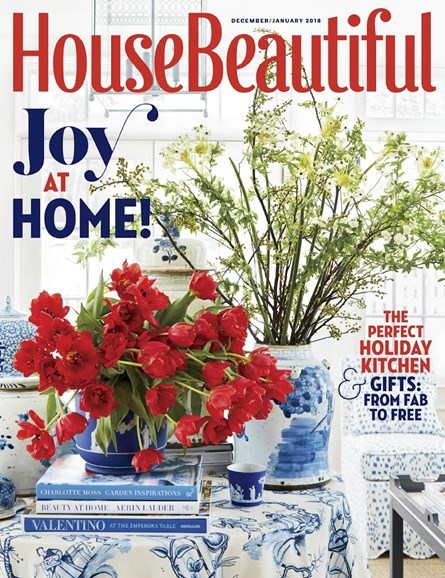House Beautiful Cover - 12/1/2017