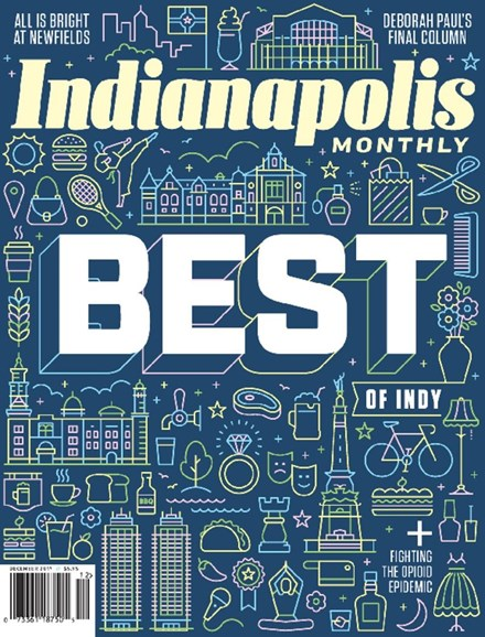 Indianapolis Monthly Cover - 12/1/2017