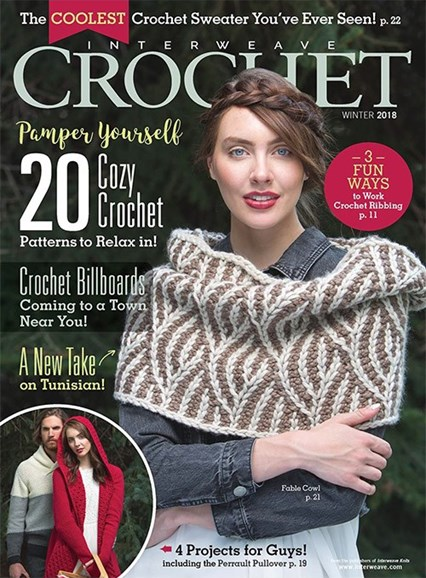 Interweave Crochet Cover - 12/1/2017