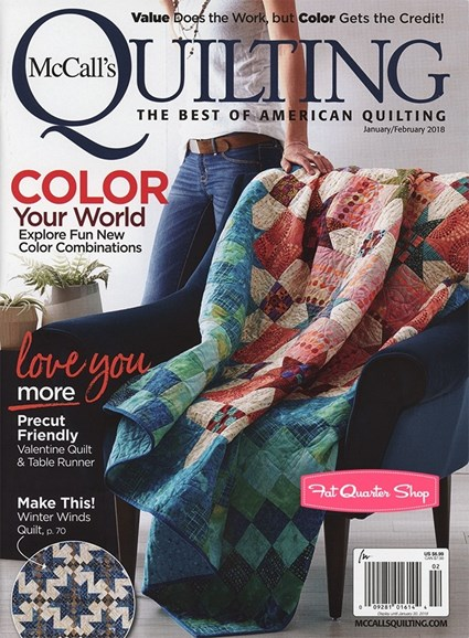 McCall's Quilting Cover - 1/1/2018