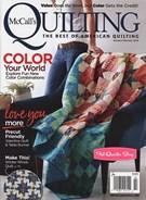 Mccall's Quilting Magazine 1/1/2018