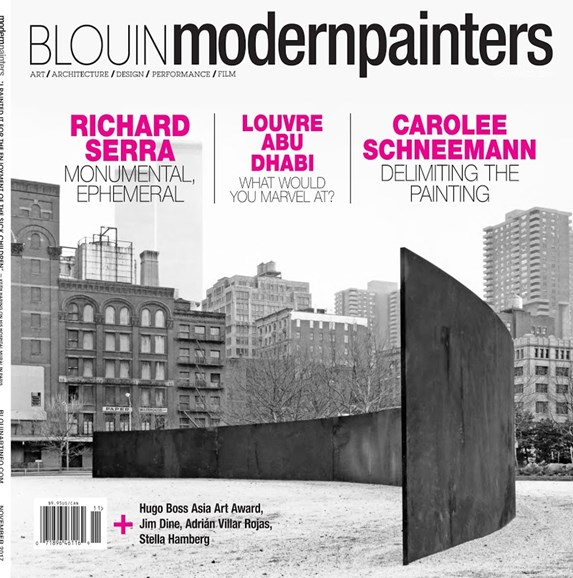 Blouin Modern Painters Cover - 11/1/2017