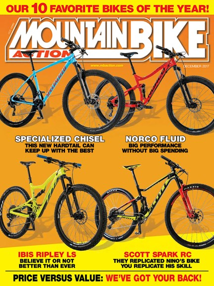 Mountain Bike Action Cover - 12/1/2017