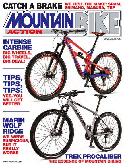 Mountain Bike Action Cover - 11/1/2017