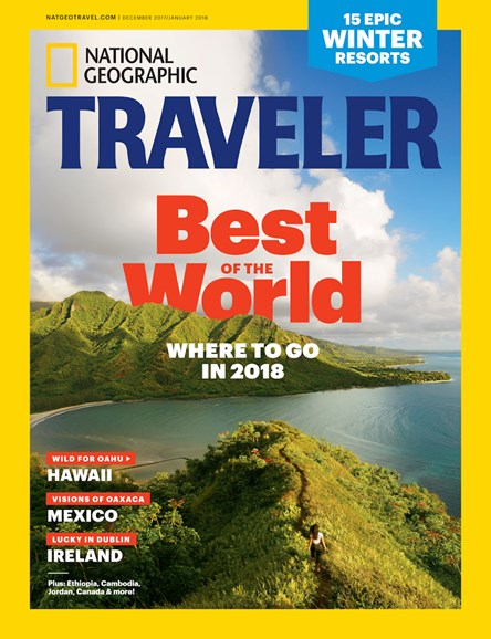 National Geographic Traveler Cover - 12/1/2017