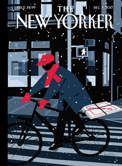 The New Yorker Cover - 12/4/2017