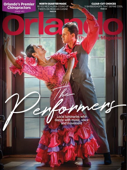 Orlando Magazine Cover - 11/1/2017