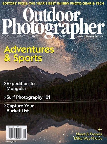 Outdoor Photographer Cover - 12/1/2017
