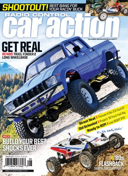Radio Control Car Action Cover - 8/1/2017