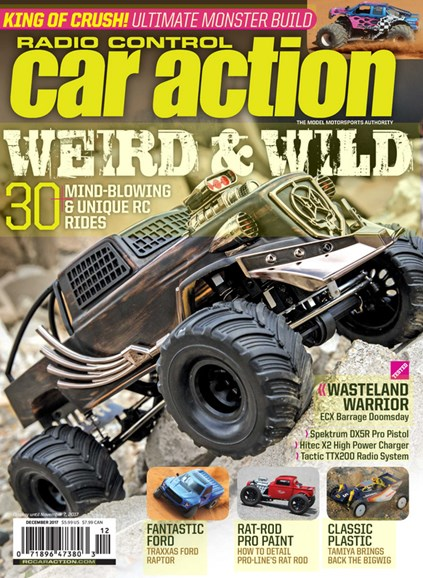 Radio Control Car Action Cover - 12/1/2017