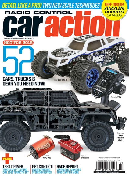 Radio Control Car Action Cover - 1/1/2018