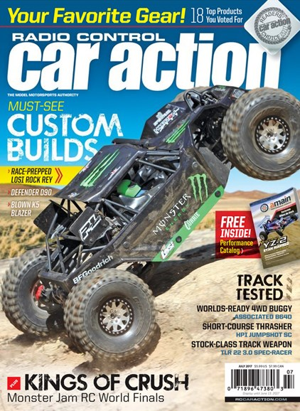 Radio Control Car Action Cover - 7/1/2017