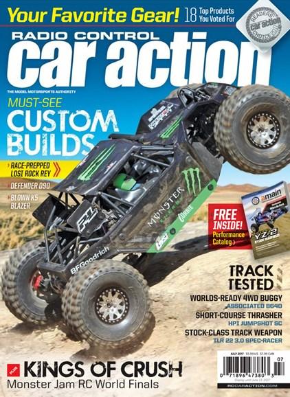 Radio Control Car Action Cover - 7/1/2017