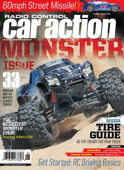 Radio Control Car Action Cover - 6/1/2017