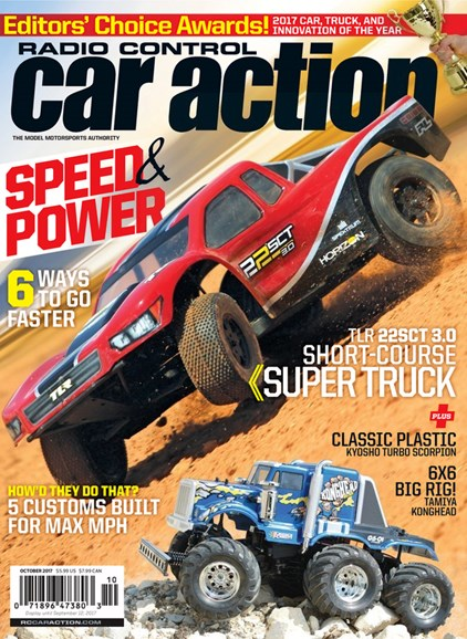 Radio Control Car Action Cover - 10/1/2017